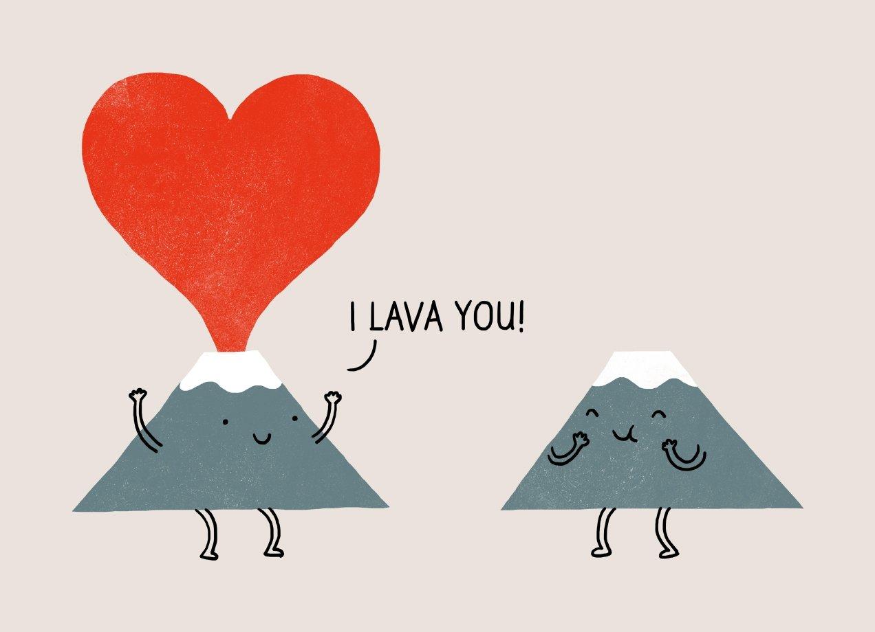 I Lava You!