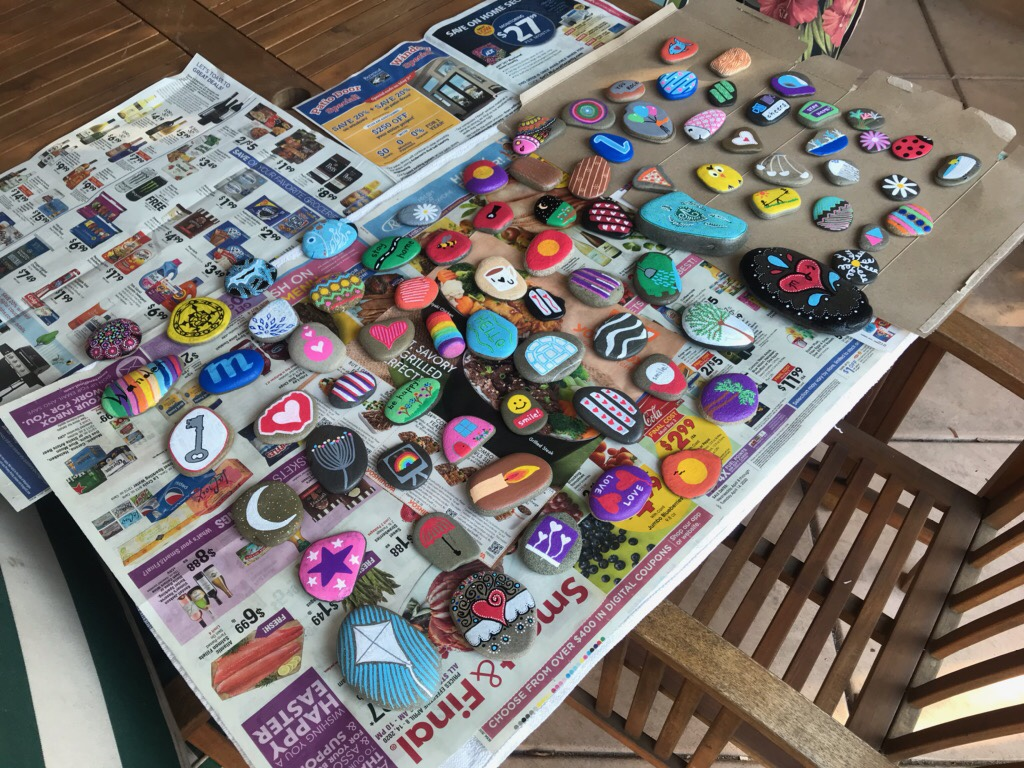 rock paint ideas