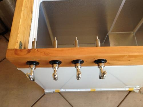 Fit the taps