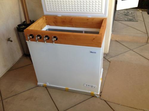 Finish tap installs, make sure it looks good
