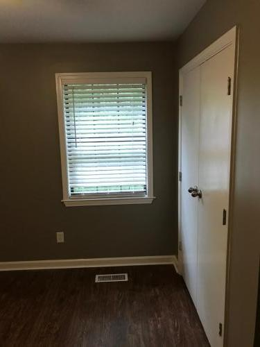 Paint, window trim, fittings, etc. all new.